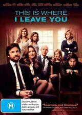 This Is Where I Leave You (Dvd) Comedy Drama Jason Bateman, Tina Fey, Jane Fonda