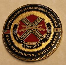 Installation Management Command USAG Humphreys South Korea Army Challenge Coin
