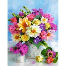 5D Full Drill Diamond Painting Embroidery Flower Basket Art Cross Stitch Kits AU