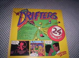 THE DRIFTERS  GATEFOLD DOUBLE LP  UK PRESS 1973/1974