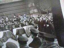 PHOTO ENTERREMENT MILITAIRE PARIS GRANDE POMPE - 10 MORTS  1950
