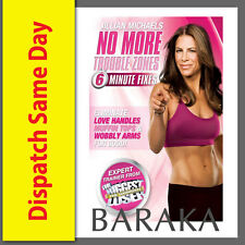 Jillian Michaels: No More Trouble Zones DVD Box Set (30 Day Shred) New & Sealed