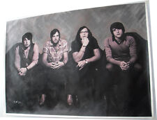 """Kings of leon hand painting on canvas 23""""x33"""" Large"""