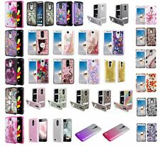 Lg Phoenix 3 Slim Hybrid Hard Case Shockproof Phone Cover Cell Phone Case At&T