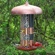 OPUS TOP FLIGHT COPPER TRIPLE TUBE BIRD FEEDER