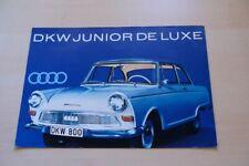 212317) DKW Junior de Luxe Prospekt 196?