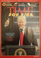 3 for $12》Time for Kids Magazine》Donald Trump 45th President of U.S.》Feb 3, 2017