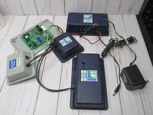 V Invisible fence ICT150 transmitter and LP3000 .ict 150 case. AC lot of parts