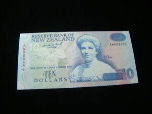 New Zealand 1992-97 $10.00 Banknote Gem Unc. Pick #178a