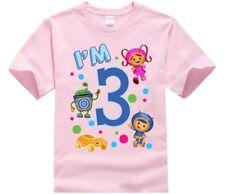 Team Umizoomi T-Shirt, Custom T-shirts, Team Umizoomi, Birthday
