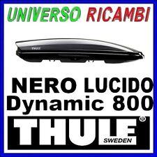 BOX AUTO Thule Dynamic 800 NERO LUCIDO il più sportivo aerodinamico e sottile