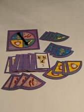 1999 WIZARD OF OZ Game Replacement Parts! Spinner + Cards + Pieces!