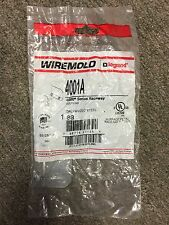 (Lot of 6) New! Wiremold 4001A 4000 Series Raceway Galvanized Coupling