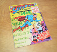 Vintage SUPERMAN NO. 181 Comic Book 1965 DC Comics Silver Age 12 Cents Very Good