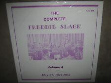 FREDDIE SLACK The Complete Volume 4 May 27 1947-1955 RARE SEALED New LP AJAZ 306