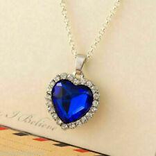 Heart of the Ocean Dark Blue TITANIC Necklace Boho Bohemian Jewellery UK SELLER