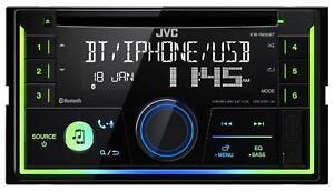 JVC KW-R930BT Doppel-DIN CD/MP3-Autoradio Bluetooth iPod AUX-IN USB - KW R930 BT