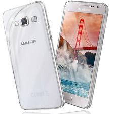Silikon Case für Samsung Galaxy A3 2015 Schutz Hülle Transparent Thin Back Cover