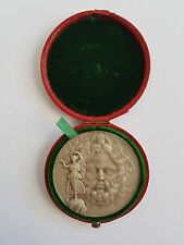 OFFICIAL ATHENS 1906 OLYMPIC GAMES SILVER MEDAL OF WINNERS, WITH ORIGINAL CASE!!