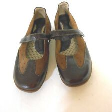 Born  Womens  Size 8m US 39EU Brown  Leather Mary Janes Loafers Shoes