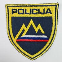 Slovenia Police Europe Policija Patch (D)