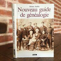 Robert Aublet nouveau guide de généalogie Guides pratiques Ouest France 1986