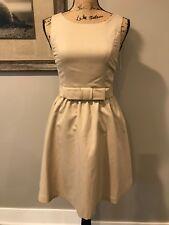 LC Lauren Conrad Wonderland Dress NWT Size 0 Gold Party Dress Sparkly Sleeveless