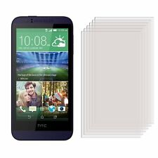 6 x Clear LCD Screen Protector Film Foil Saver for HTC Desire 510