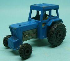 MATCHBOX FORD Tractor BLUE DIECAST CAR