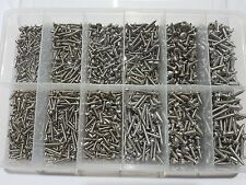 Stainless Steel 316 Self Tapping Screw Kit Pan Philllips Head  Boat,Marine,Yacht