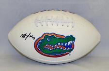 Matt Jones Autographed Florida Gators Logo Football- JSA Witnessed Auth 496620245