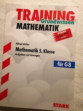 Stark Training Grundwissen Mathematik 5. Klasse Aufgaben mit Lösungen