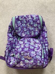 Kids Smiggle panda print backpack