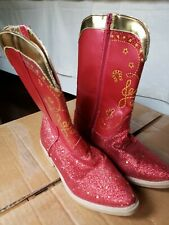 Disney Toy Story Jessie Red Cowboy Boots girl size 2/3