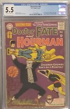 Showcase #55 CGC 5.5 DC 1965 1st Green Lantern Solo & Solomon Grundy, Hourman