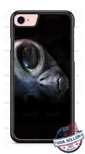 Alien Head Extraterrestrial Staring Phone Case Cover For iPhone Samsung Google