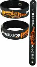 PANIC! AT THE DISCO  NEW! Bracelet Wristband aa110 White/Too Weird to Live