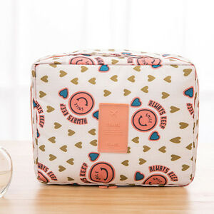 Portable Makeup Bag Cosmetic Case Beauty Toiletry Storage Organizer Pouch Travel