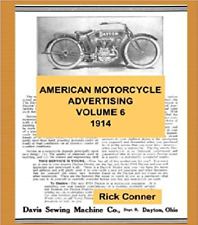 American Motorcycle Advertising Book Volume 6: 1914 ~388 pgs~ Nostalgia!