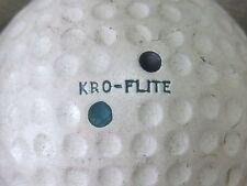 (1) KRO FLITE BY SPALDING VINTAGE LOGO GOLF BALL