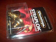 NEW Dunlop Original Straplok Strap Lock System - GOLD