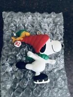 1992 HALLMARK Keepsake Ornament Snoopy and Woodstock Handcrafted