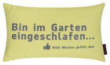 Magma Kissen GARDEN  30 x 50 cm - Kissen mit Spruch für die nächste Grillparty