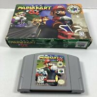 Mario Kart 64 In Orginal Box Nintendo 64 N64 No Manual Tested Working Authentic