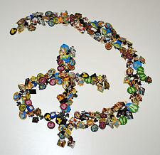 Disney Pin Lot of 10 Pins With A Disney Themed Lanyard