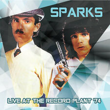 SPARKS - LIVE AT THE RECORD PLANT '74. CD ** NEW + SEALED **