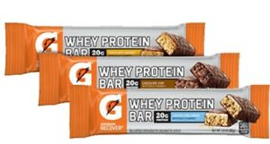 57 ASSORTED Gatorade Recover Whey Protein Bars  57 Bars Total NO RESERVE !
