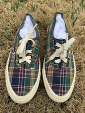 Vintage VANS Sneakers Canvas Lace-Up Women Shoes. Women's Size US 7 Rare