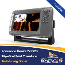 Lowrance Hook2 7x GPS Tripleshot | 3-in-1 Transducer & Autotuning Sonar