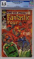 FANTASTIC FOUR ANNUAL #6 CGC 3.5 1ST ANNIHILUS & FRANKLIN RICHARDS